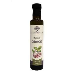 Sutter Buttes Garlic Herb Infused Olive Oil 8.5floz 233908 OC