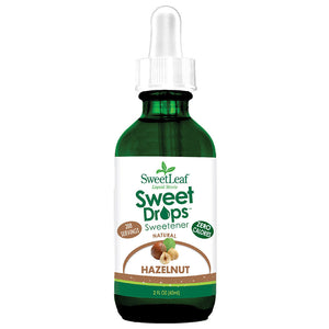 SweetLeaf Hazelnut Sweet Drops 2 fl oz 223519 OC