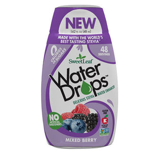 SweetLeaf Mixed Berry Water Drops 1.62 fl oz 233069 OC