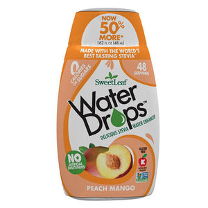 SweetLeaf Peach Mango Water Drops 1.62 fl oz 233070 OC