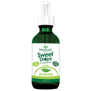 SweetLeaf SteviaClear Sweet Drops 2 fl oz 223507 OC