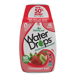 SweetLeaf Strawberry Kiwi Water Drops 1.62 fl oz 233072 OC