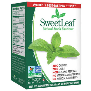 SweetLeaf Sweetener Packets 223504 OC