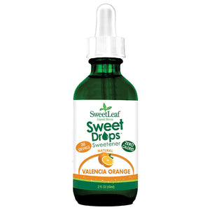 SweetLeaf Valencia Orange Sweet Drops 2 fl oz 223514 OC