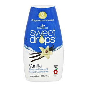 SweetLeaf Vanilla Liquid Stevia Drops 1.7 fl oz 230169 OC