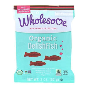 Wholesome Sweeteners Organic DelishFish Candy 2 oz OC - NutritionalInstitute.com