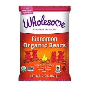 Wholesome Sweeteners Organic Cinmon Bears 2 oz 233516 OC