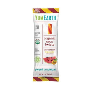 YumEarth Organic Gummies Sour Twists Gummies 2 oz OC