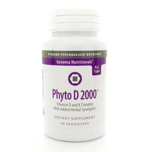 D Adamo Personalized Nutrition Phyto D 2000 60 Caps DD0056 NP