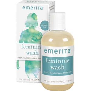 Emerita Feminine Cleans.& Moist.Wash 4 fl oz 30300 - NutritionalInstitute.com