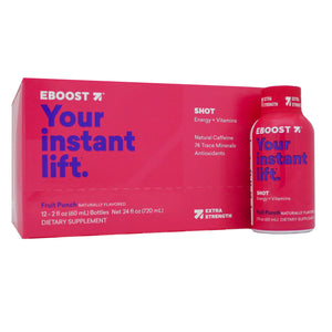EBOOST ENGERY SHOT Fruit Punch Extra Strength Pack EB0013 NP