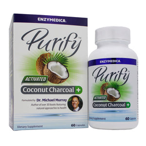 Enzymedica Purify- Charcoal Plus EY0071 - NutritionalInstitute.com