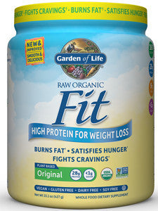 Garden of Life Raw Organic Fit Protein Original 10 Serv 102092 - NutritionalInstitute.com