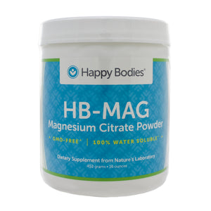 Happy Bodies MAG Magnesium Citrate 452g HA0004