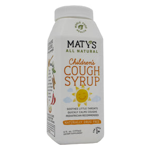 Maty's Healthy Products Matys Natural Kids Cough Syrp MT0008 - NutritionalInstitute.com
