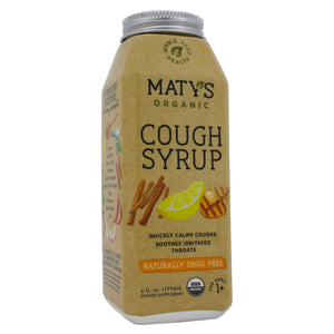 Maty's Healthy Products Matys Organic Cough Syrup MT0001 - NutritionalInstitute.com