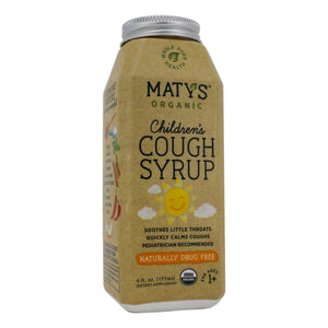 Maty's Healthy Products Matys Organic Kid Cough Syr MT0004 - NutritionalInstitute.com