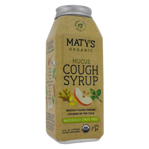 Maty's Healthy Products Matys Organic Mucus Cough Syr MT0002 - NutritionalInstitute.com