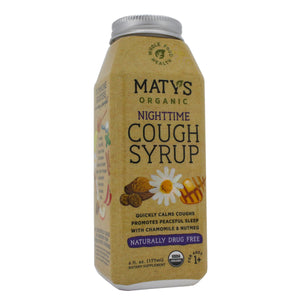 Maty's Healthy Products Matys Organic Night Cough Syr MT0003 - NutritionalInstitute.com