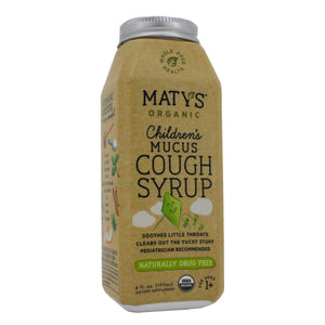 Maty's Healthy Products Matys Orgc Kid Mucus Cough Syr MT0006 - NutritionalInstitute.com