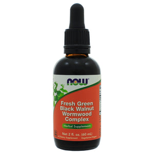 NOW Foods Fresh Green Black Walnut WormwoodComplex Liq NL0037