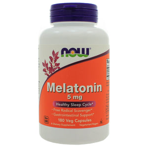 NOW Foods Melatonin 5mg NL0071