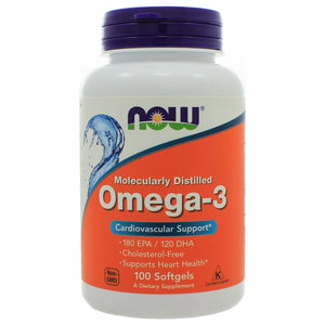 NOW Foods Omega-3 100 Softgels NL0080