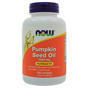 NOW Foods Pumpkin Seed Oil 1000mg NL0088