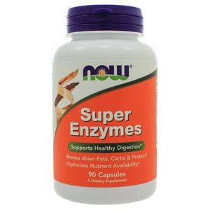 NOW Foods Super Enzymes 90 Capsules NL0099