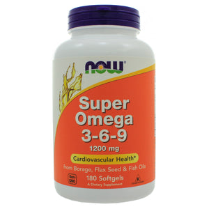 NOW Foods Super Omega 3-6-9 1200mg NL0100