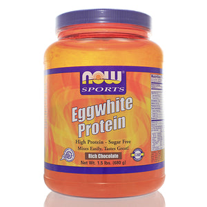 NOW Sports Eggwhite Protein Chocolate