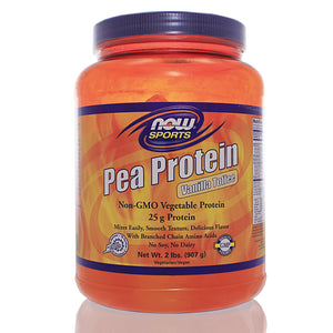NOW Sports Pea Protein Vanilla Toffee
