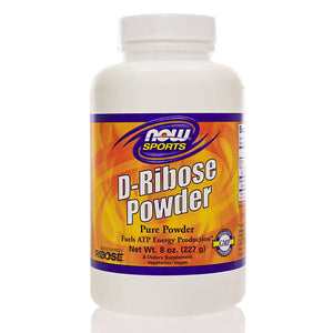 NOW Sports Ribose Pure Powder Bioenergy NS
