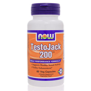 NOW Sports Testo Jack 200 Extra Strength NS