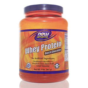 NOW Sports Whey Protein Chocolate NS