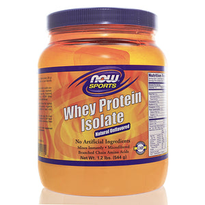 NOW Sports Whey Protein Isolate Pure 1.2 Pounds NS