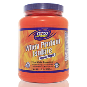 NOW Sports Whey Protein Isolate Vanilla NS