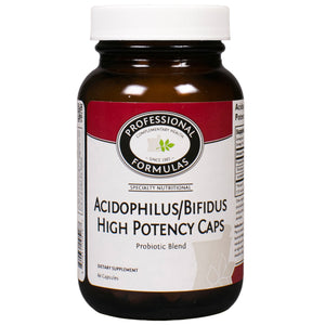 Professional Formulas Acidophilus/Bifidus High Potency 60 Caps