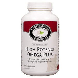 Professional Formulas High Potency/Omega Plus 120 perles PF0786