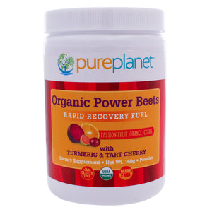 Pure Planet Organic Power Beets Rapid Recovery Fuel 160g PZ0002