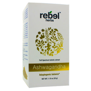 Rebel Herbs Ashwagandha Holistic extract powder 33g RH0022