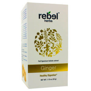Rebel Herbs Ginger Holistic extract powder 33g RH0019