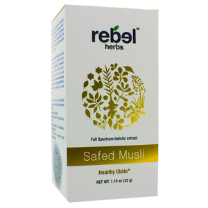 Rebel Herbs Safed Musil Holistic extract powder 33g RH0025
