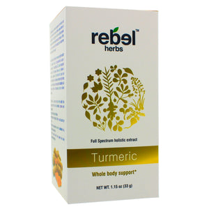 Rebel Herbs Turmeric Holistic extract powder 33g RH0018