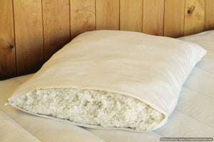 Holy Lamb Organics King Woolly Down Pillows NE - NutritionalInstitute.com