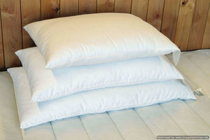 Holy Lamb Organics Queen Wool Filled Bed Pillow - NutritionalInstitute.com