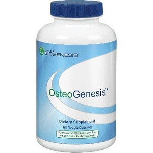 BioGenesis OsteoGenesis Support for Bone Health 120 Vegcapsules Exp.9.20 IHI