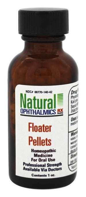Natural Ophthalmics Authentic Homeopathic Floater Pellets 1 Ounce Exp.11.22 IHI