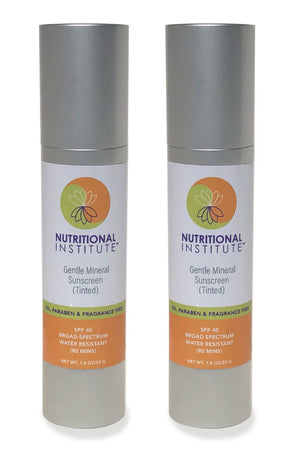 Nutritional Institute SPF 40 Paraben Free Sunscreen 1.8 oz 2PACK Exp.11.20 IHI