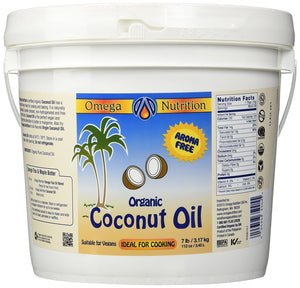Omega Nutrition Certified Organic Coconut Oil Cooking Moisturizing 112 ounce IHI